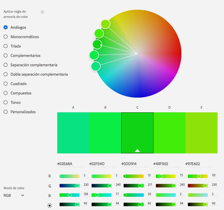 Para diseñar un sitio web atractivo debes elegir colores que combinen entre sí.