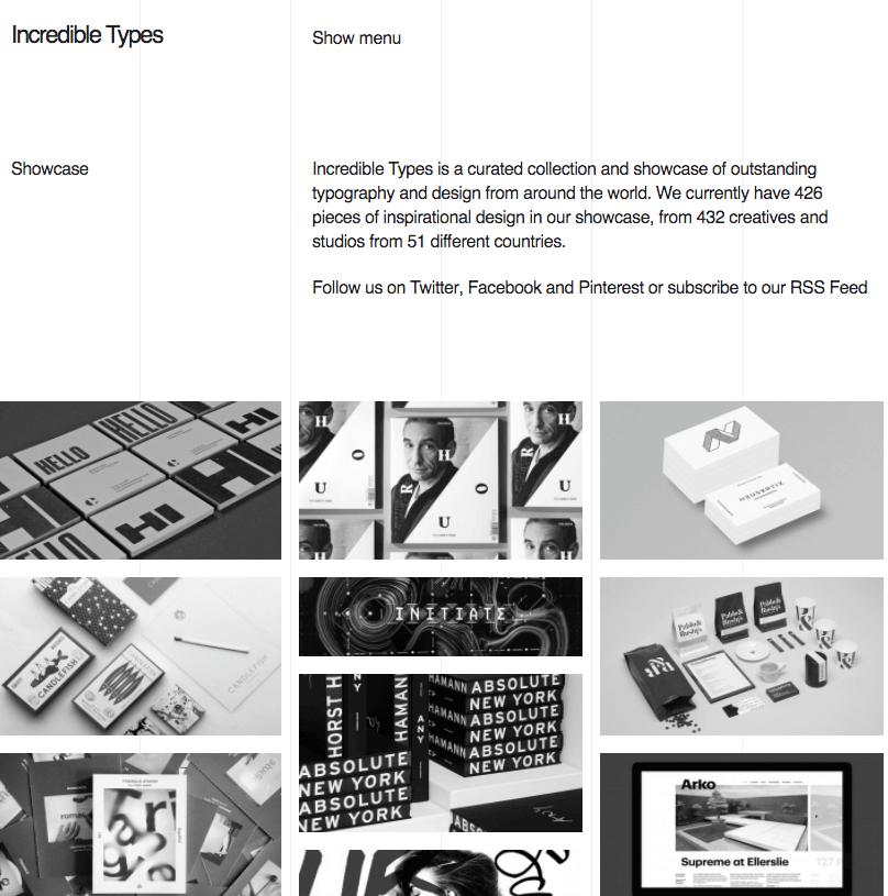 Prueba tendencias de diseño como la combinación de blanco, negro y grises.