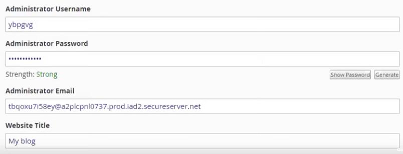 Verifica los ajustes de Installatron cuando descargues una aplicación