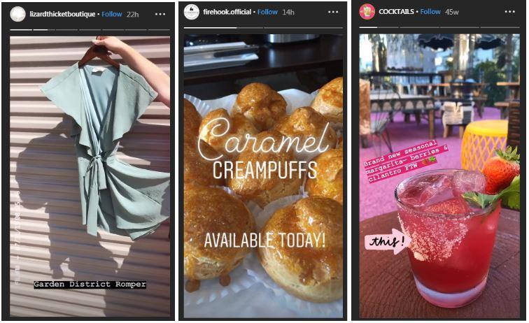 Aprovecha la función de Stories de Instagram para tu negocio.