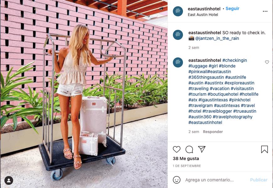 Instagram para negocios - Comparte contenido generado por tus seguidores.